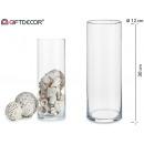 pot de verre cylindrique 30 cm