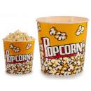 round large popcorn bucket