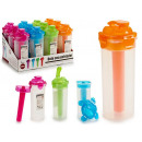 bottle cooler with lid colors 4 times assorted
