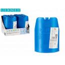 blauer Flaschenkühler