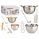 wholesale Food & Beverage:5-piece steel pasta set