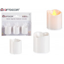 mayorista Electronica de ocio: conjunto de 3 velas led taco