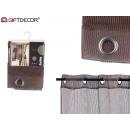 curtain 140x260cm 6 ollaos grille marro