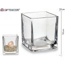 10x10 crystal candle holder