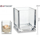 12x12 crystal candle holder