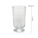 glass cup 35 cm high