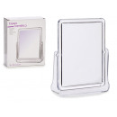 rectangular methacrylate mirror and stand