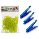 wholesale Manual Tools: set of 48 plastic tweezers, colors 2 times