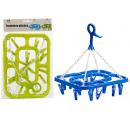 18p rotary plastic clothesline