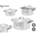 groothandel Huishouden & Keuken:aluminium pan 18 cm (2l)