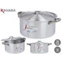 casserole en aluminium 24 cm (5 l)