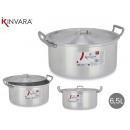 casserole en aluminium 26 cm (6,5 l)