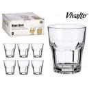 set of 6 liquor glasses 29cl