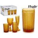 wholesale Kitchen Utensils:amber 38cl soda glass