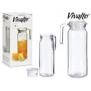 wholesale Kitchen Utensils:1l round smooth pitcher