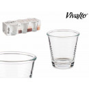 wholesale Drinking Glasses: set of 6 9cl coffee glasses