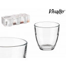 wholesale Drinking Glasses: set of 6 glasses cut 15cl