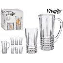 set de pichet et 6 verres de conduites d'eau 2