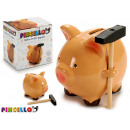 wholesale Gifts & Stationery: piggy ceramic piggy bank with hammer