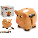 wholesale Giftware: piggy ceramic piggy bank with large hammer