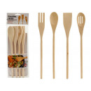 wholesale Household Goods: set of 4 wood kitchen utensils