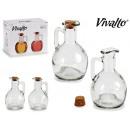 mayorista Alimentos y bebidas: conjunto de aceitera vinagrera cristal 200ml
