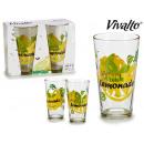 set of 2 limon soda glasses 45cl