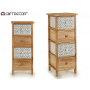 wooden furniture 4 drawers wide triangles