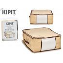 doos bewaart alle 45x45x20cm natuurlijke kleuren