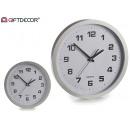 Großhandel Uhren & Wecker: Uhrwerk großer silberner Rand