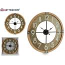 Großhandel Uhren & Wecker: Uhrwerk rustikale weiße Zahlen