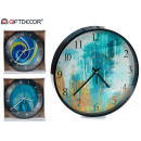 wholesale Clocks & Alarm Clocks: Movement type abstract black border, 3 times ...