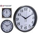wholesale Clocks & Alarm Clocks: Movement type white background large black edge
