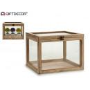 mayorista Salud y Cosmetica: invernadero madera rectangular recto natural