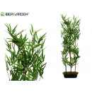 wholesale Artificial Flowers: jardiniere bambu 6 branches 120cm