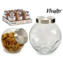 Glas Keks 1,5 l Stahldeckel