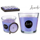 50h lavender glass candle