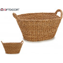 large oval handle basket