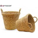 basket handle round middle edge