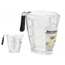 900ml transparent measuring jug