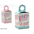 gift box baby models 2 times assorted 25x10cm