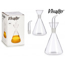 wholesale Food: 250ml transparent glass oilcan
