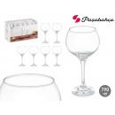 set of 6 glasses ambassador cubata 710 ml