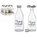nagyker Háztartás és konyha: 1 literes üvegből készült acél kupak