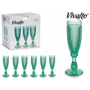 wholesale Food & Beverage: 18cl turquoise champagne glass