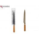 couteau de manche en bois moyen