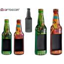 pendentif feuille bière bière tableau noir 2 fois