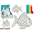 stuffed fish to paint with marker