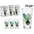 set of 3 glasses soda wild 31cl