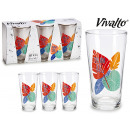 set of 3 glasses soda dream 31cl